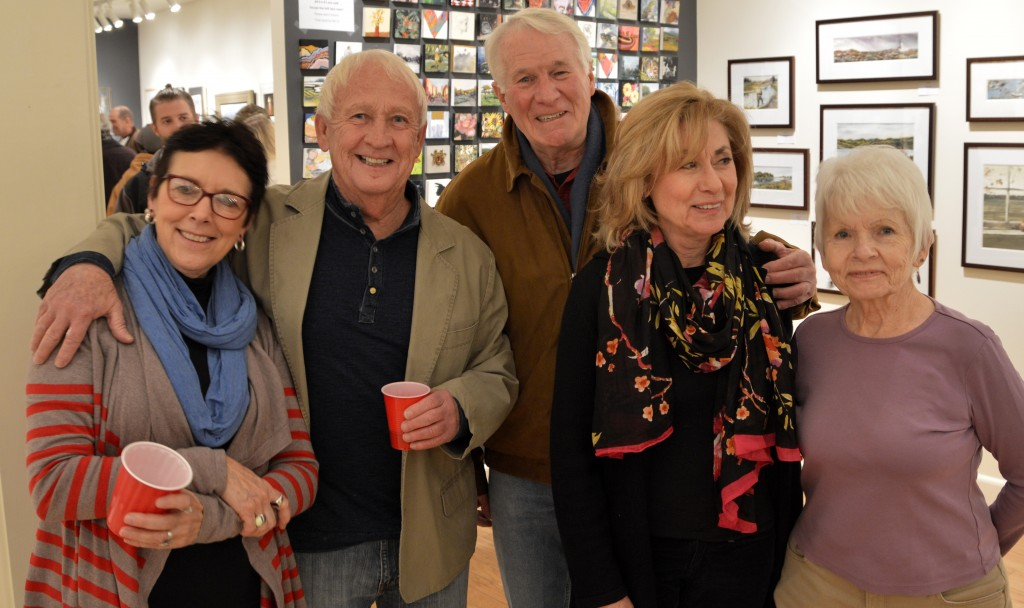2015 Jackie, Fred, Mike, Pat and Pat